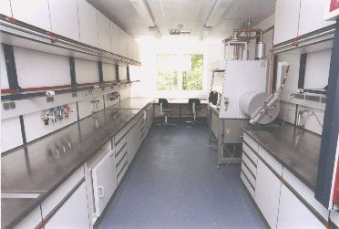 View into a lab