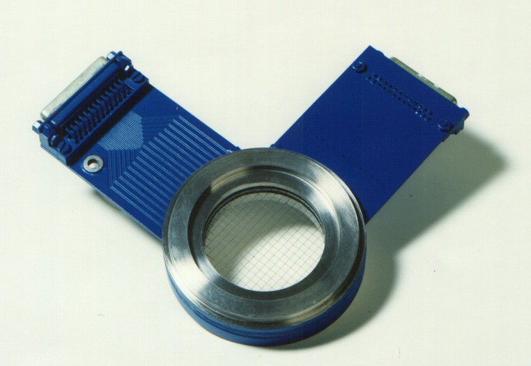 photography of a wire-mesh sensor