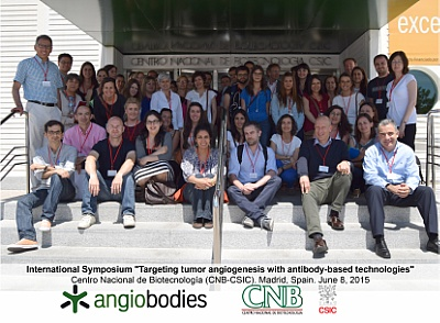 Official photo angiobodies meeting Madrid