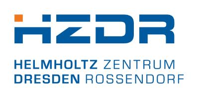 HZDR-Logo (Hochformat als png-Datei) ©Copyright: HZDR