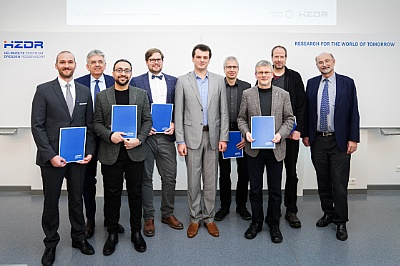 Award winnersHZDR award ceremony 2019 ©Copyright: André Wirsig/HZDR