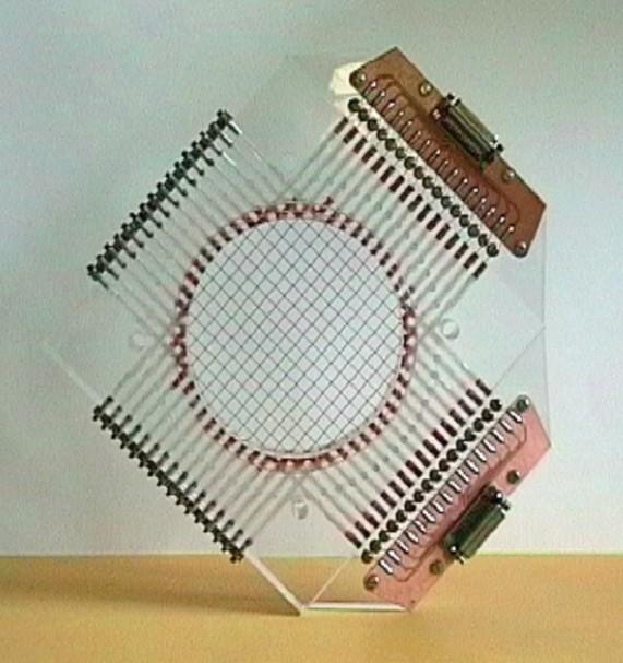 Plexiglassensor für Reaktorein- und -austrittsstutzen des ...