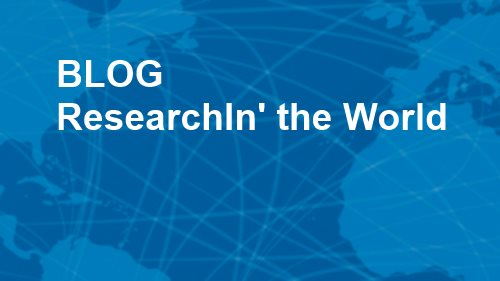 "Blog ""ResearchIn' the World"""