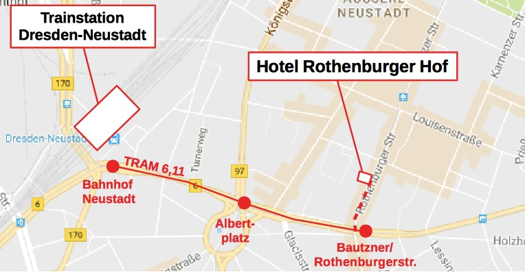 Hotel Rothenburger Hof and surroundings